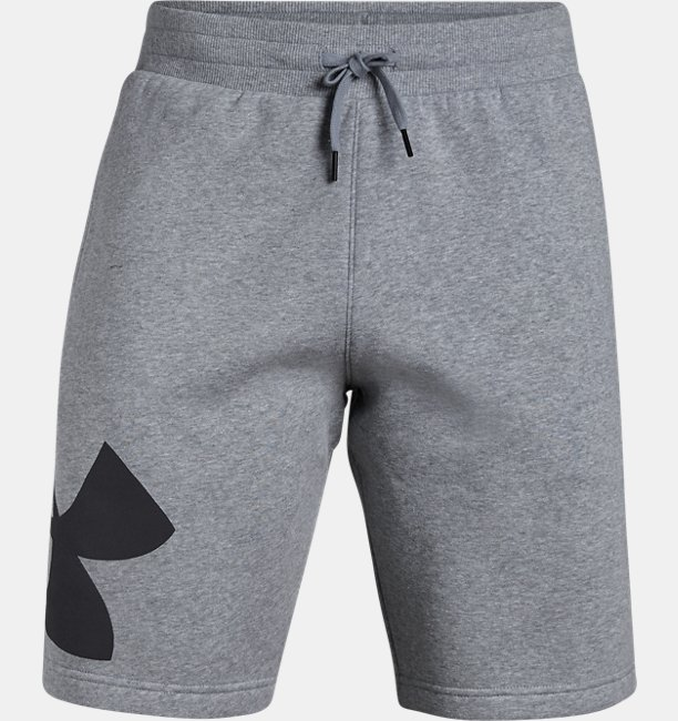 Herenshorts UA Rival Fleece Logo