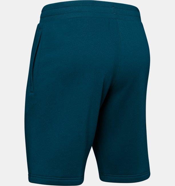 Mens UA Rival Fleece Logo Shorts