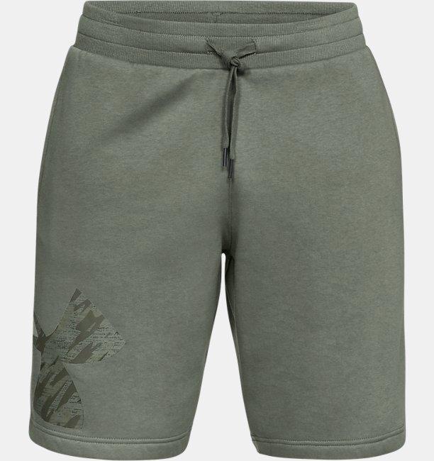 Shorts UA Rival Fleece Logo Masculino