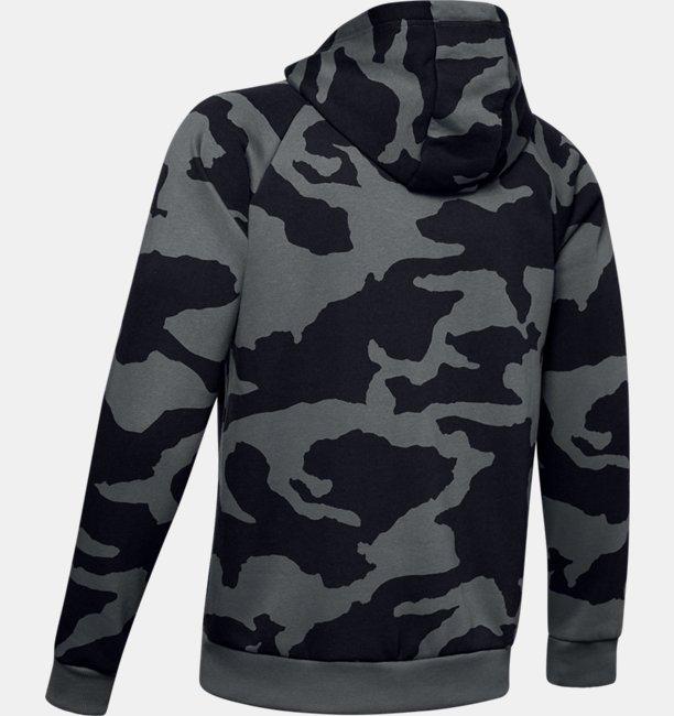 Polerón UA Rival Fleece Camo Full Zip para Hombre