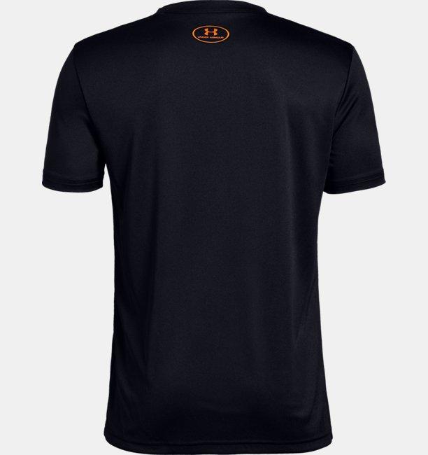 Erkek Çocuk UA Print Fill Logo Tişört
