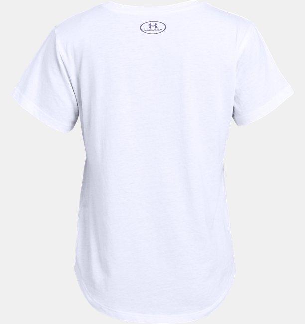 Girls UA SPWW Graphic Short Sleeve T-Shirt