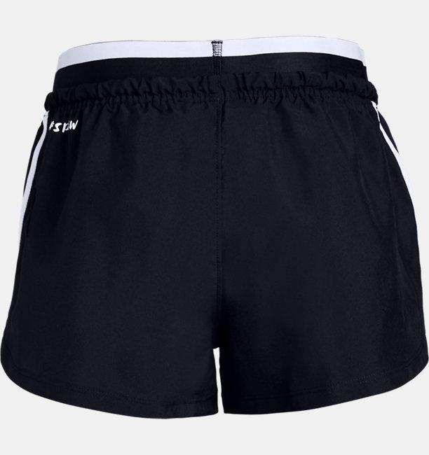 Girls UA SPWW No Sweat Woven Shorts