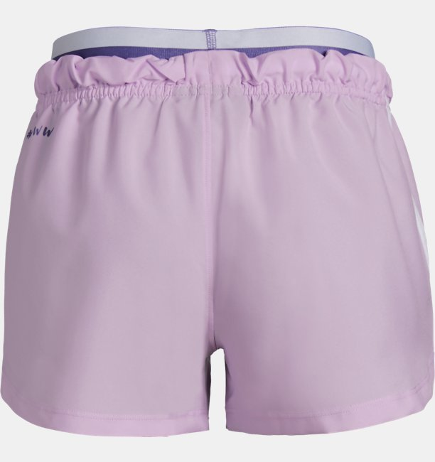 Girls UA SPWW No Sweat Woven Shorts