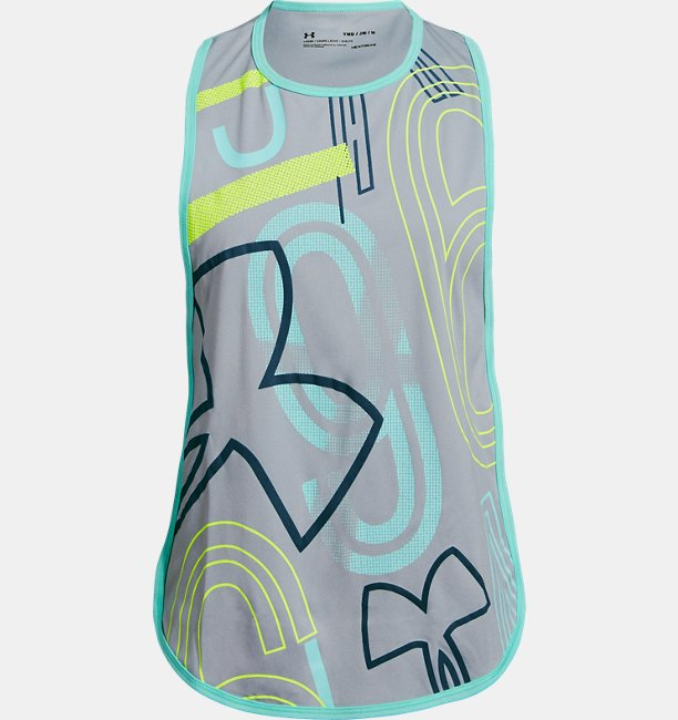 Girls UA SPWW Homestretch Tank