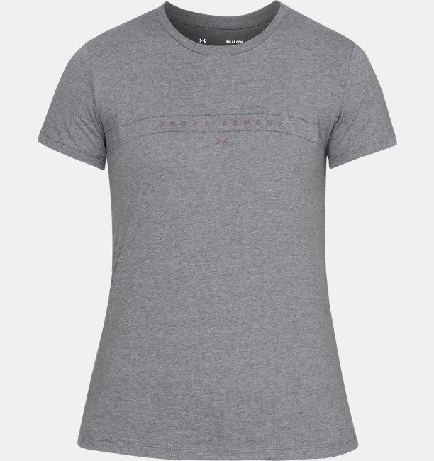 Camiseta de Treino Feminina Under Armour Graphic WM Classic Crew