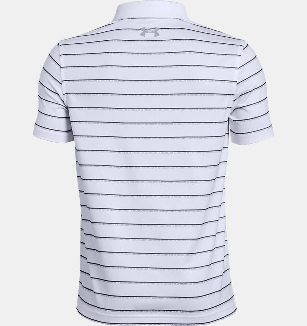 Boys UA Tour Tips Stripe Polo