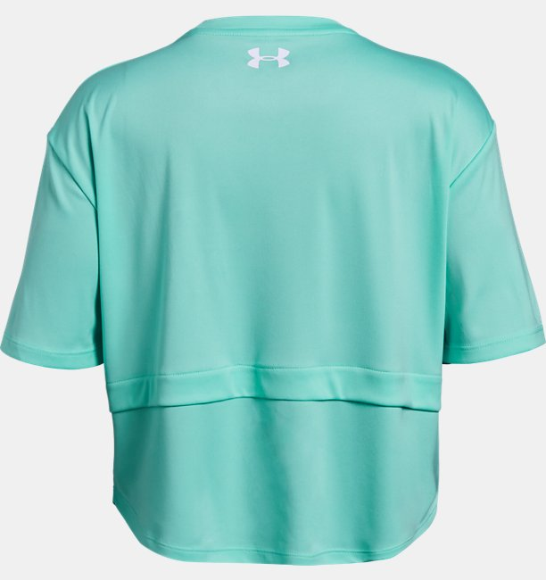 Girls UA Sun Armour Short Sleeve T-Shirt