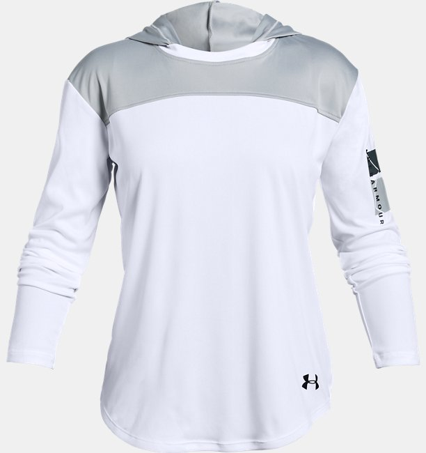Girls UA Sun Armour Long Sleeve
