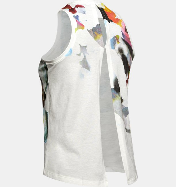Womens UA Run Tie Back Tank