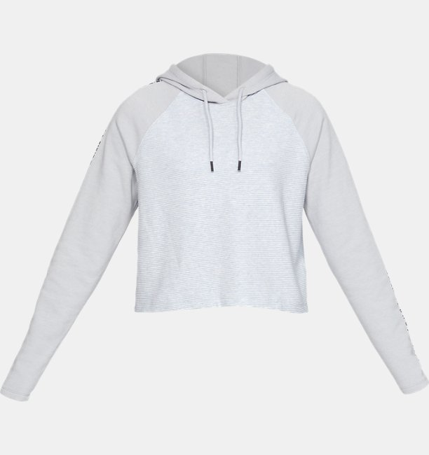 Dameshoodie UA Microthread Fleece