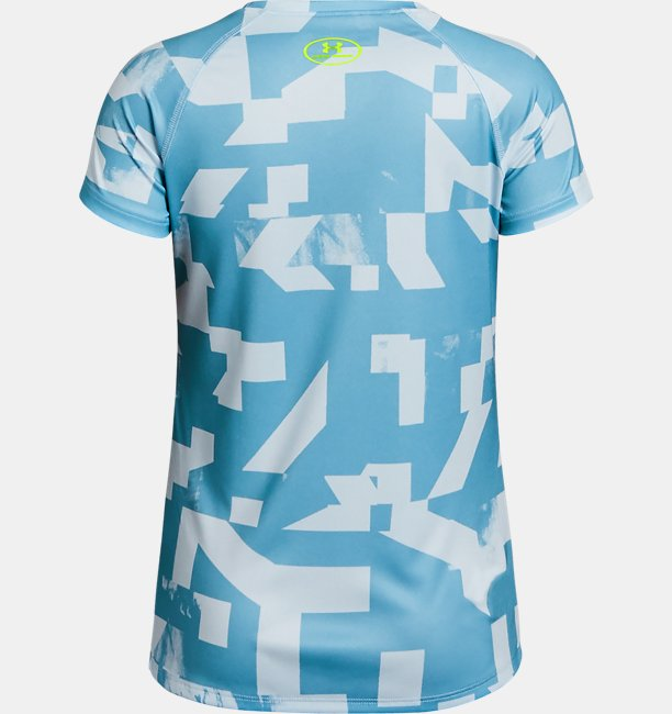 Girls UA Big Logo Novelty T-Shirt
