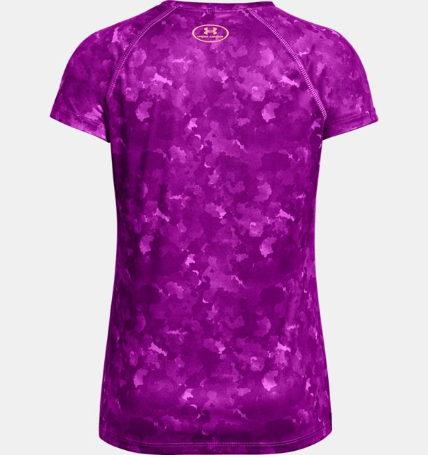 Girls UA Big Logo Printed T-Shirt