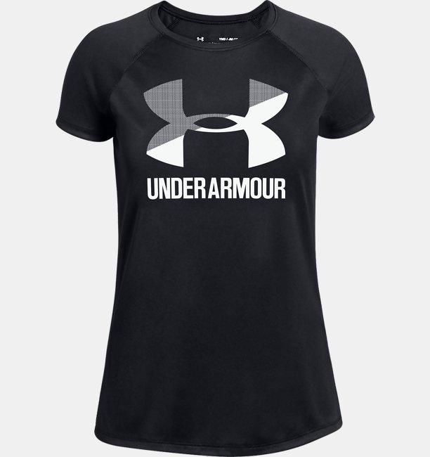 UAビッグロゴ Tシャツ ソリッド ショートスリーブ(トレーニング/Tシャツ/GIRLS)