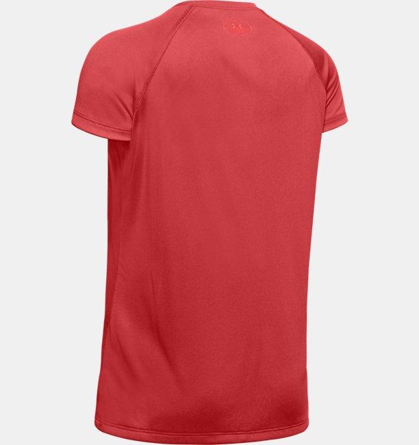 Girls UA Big Logo Solid T-Shirt