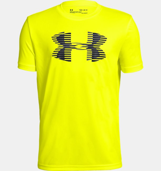 Boys' UA Tech™ Big Logo Solid T-Shirt