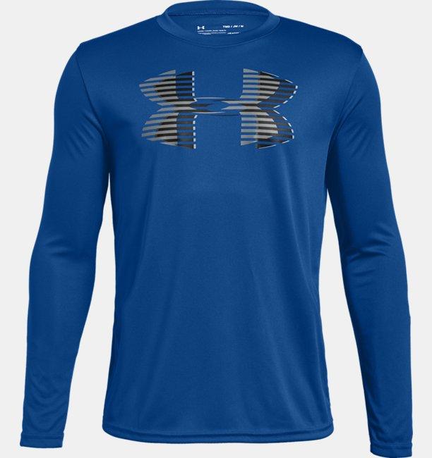 Boys UA Tech™ Big Logo Long Sleeve
