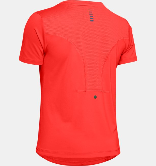 Womens UA RUSH Run HeatGear® Short Sleeve