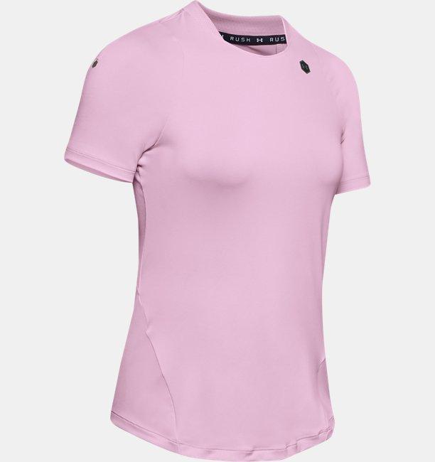 Womens UA RUSH Short Sleeve
