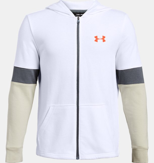 Boys UA Rival Terry Full Zip