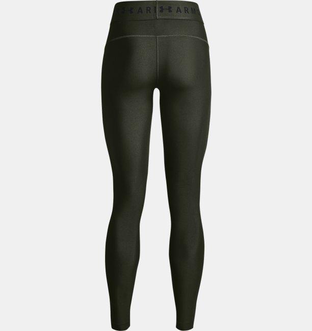 Damen HeatGear® Armour Leggings mit Branding am Bund