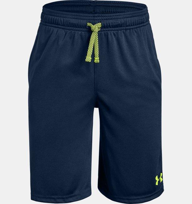 Jungen UA Prototype Shorts mit Schriftzug