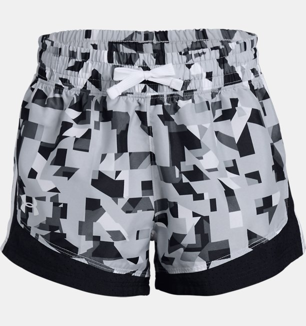 Girls' UA Sprint Printed Shorts