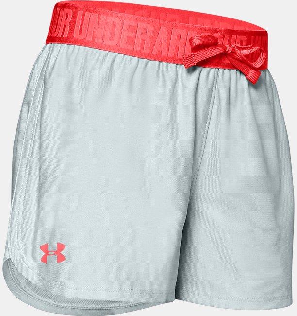 Girls UA Play Up Shorts