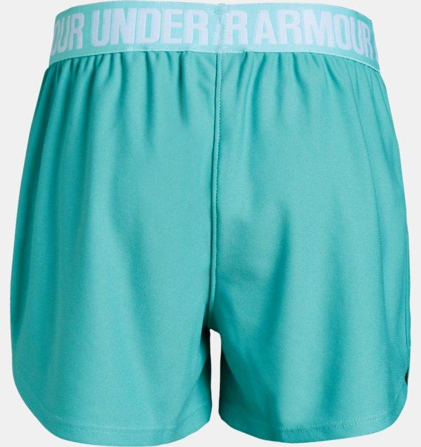 Shorts UA Play Up Infantil Feminino