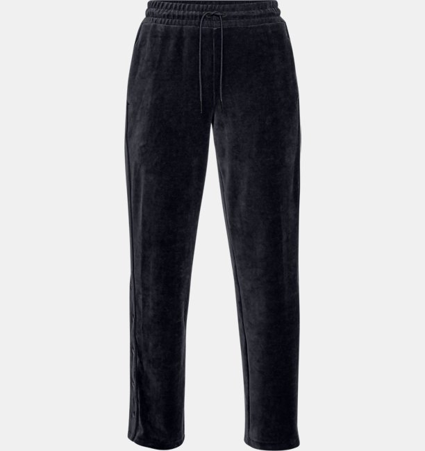 Womens UA Be Seen Velour Tear Away Pants