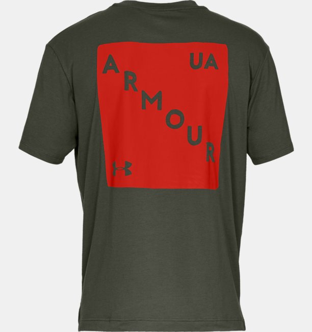 Mens UA Be Seen Short Sleeve Graphic