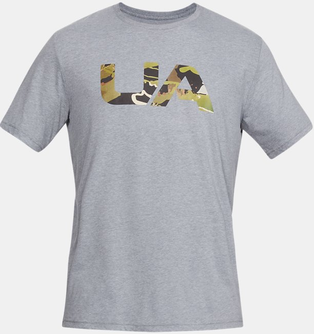 Erkek UA Camo Fill Tişört
