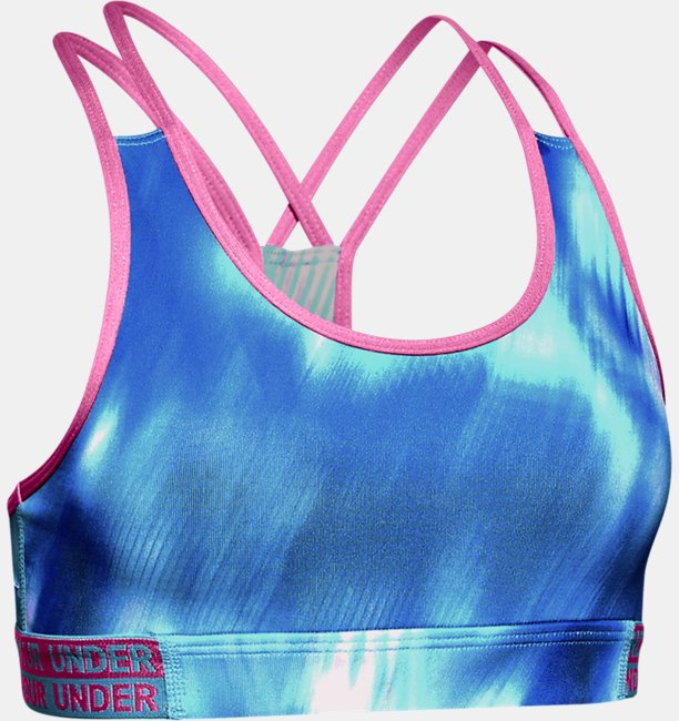 Girls HeatGear® Armour Novelty Sports Bra