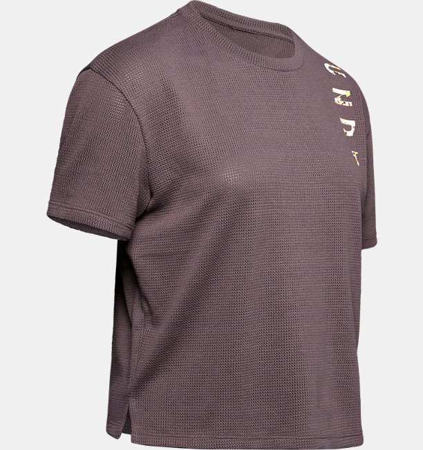 Womens UA Mesh Around Short Sleeve