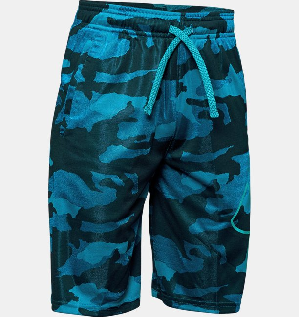 Shorts UA Renegade 2.0 Jacquard para Niño