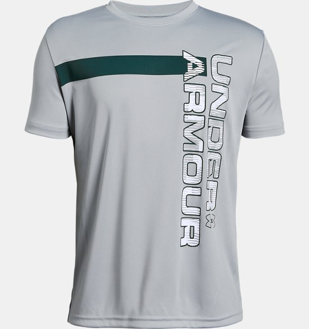Boys UA UV Wordmark T-Shirt