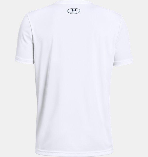 Camiseta UA UV Logo Infantil Masculina