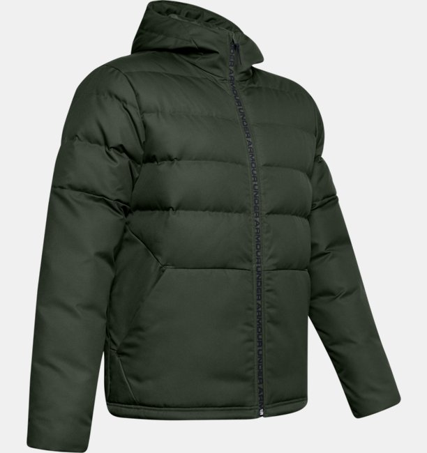 Mens UA Sportstyle Down Hooded Jacket