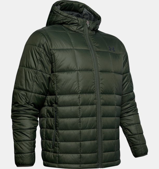 Mens UA Armour Insulated Hooded Jacket