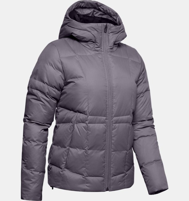 Womens UA Armour Down Hooded Jacket