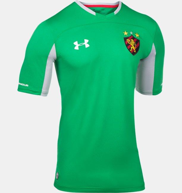 Camiseta de Futebol Masculina Under Armour Sport Club do Recife Oficial Goleiro 2018