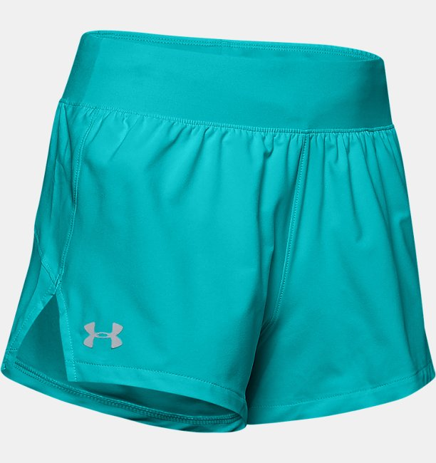 Womens UA Launch SW Go All Day Shorts
