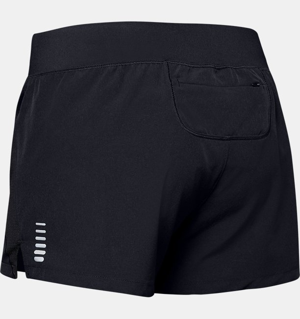 Shorts UA Qualifier Speedpocket para Mujer