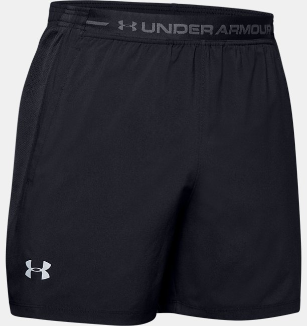 Mens UA Launch SW 13 cm Exposed Shorts