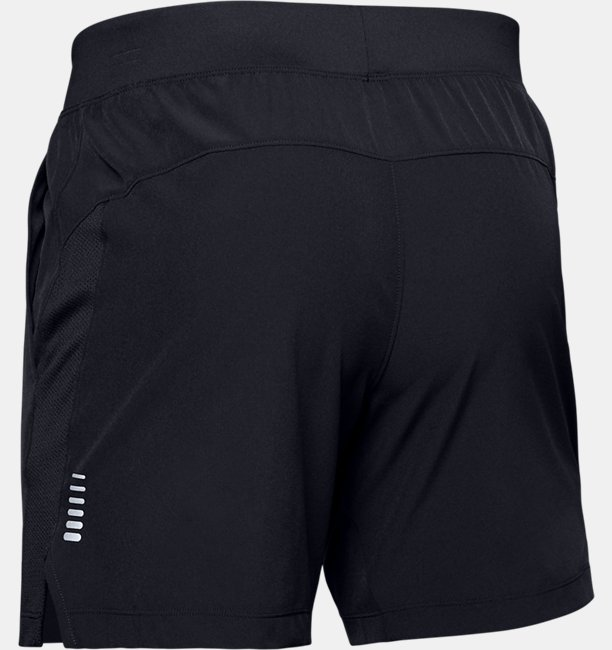 Mens UA Speedpocket Linerless 7 Shorts