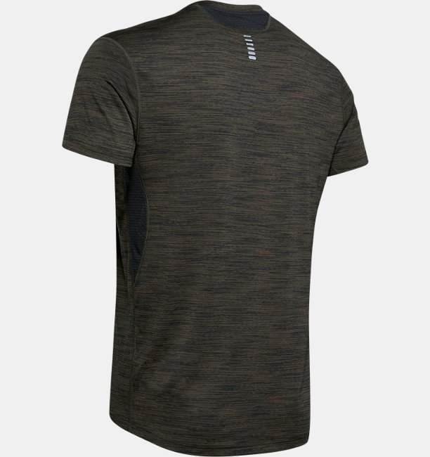 Mens UA Streaker 2.0 Time Lapse Short Sleeve