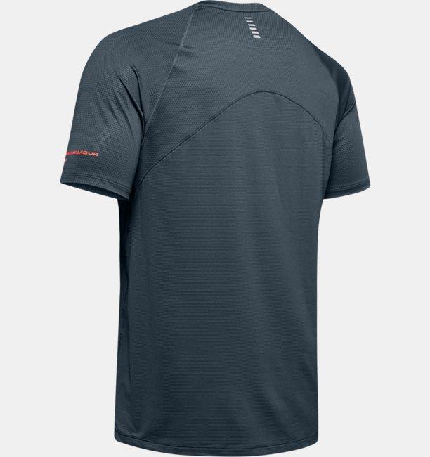 Mens UA Qualifier Glare Short Sleeve