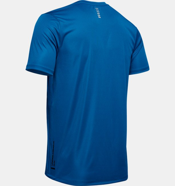 Mens UA Run Warped Short Sleeve