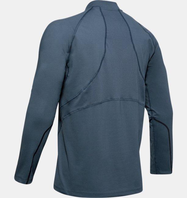 Sudadera con media cremallera UA RUSH™ ColdGear® Run para hombre