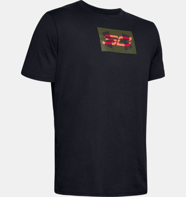Mens SC30 Overlay Short Sleeve T-Shirt